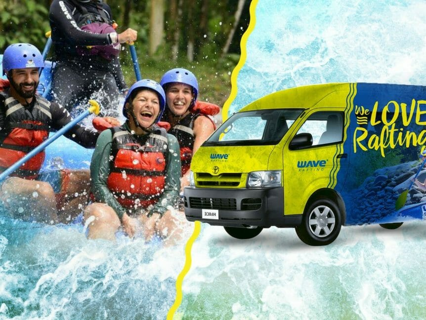 Rafting Shuttle from/to Arenal Volcano