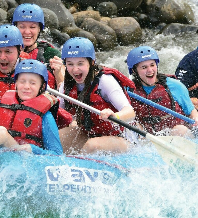 Family Rafting