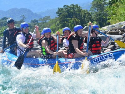 experience the thrill of white water rafting class iii and iv