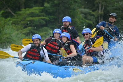 If your time is limited or just want to sleep in this Express Rafting Tour Class II & III is the perfect option for you.