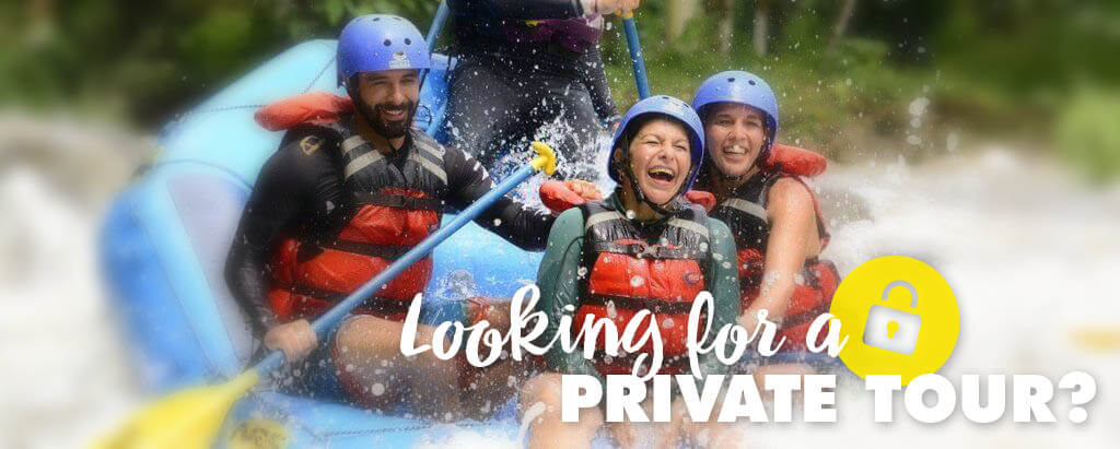 White Water Rafting Private Tours