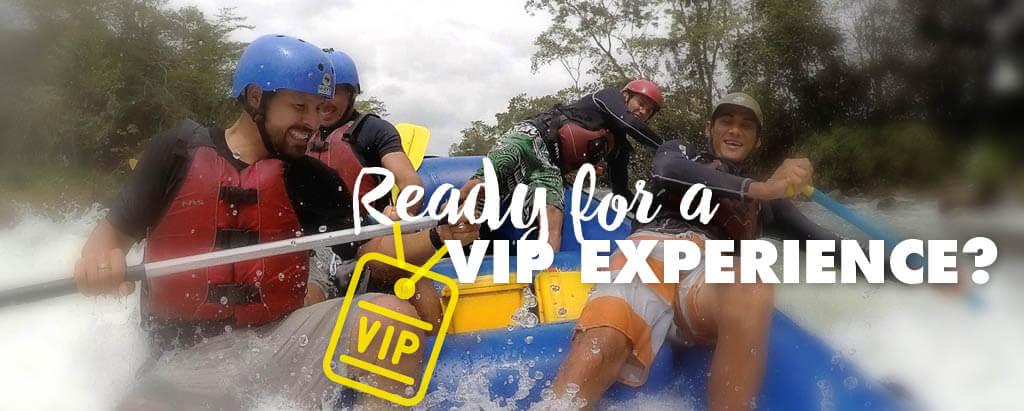 White Water Rafting VIP Tours